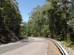 The old Pacific Highway over Bulahdelah Mountain
