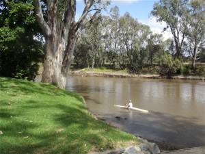 Canoe on the Murray River