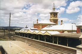 Railway Station Platform (photo courtesy NSW Rail)